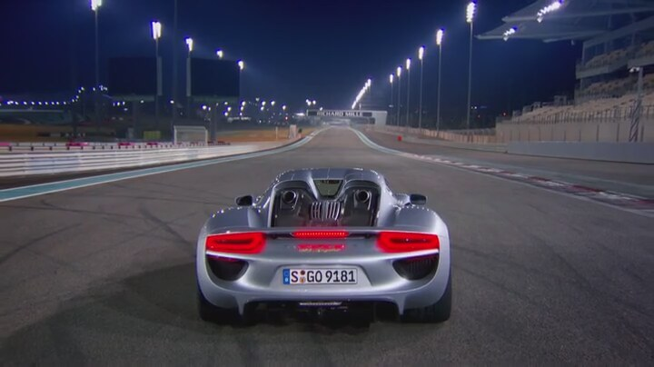 porsche 918 spyder top gear abu dhabi. Black Bedroom Furniture Sets. Home Design Ideas