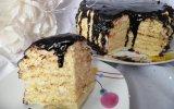 Ev Yapımı Bisküvili Yaş Pasta Tarifi