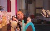 Serenay Sarıkaya Elidor Reklamı Kamera Arkası