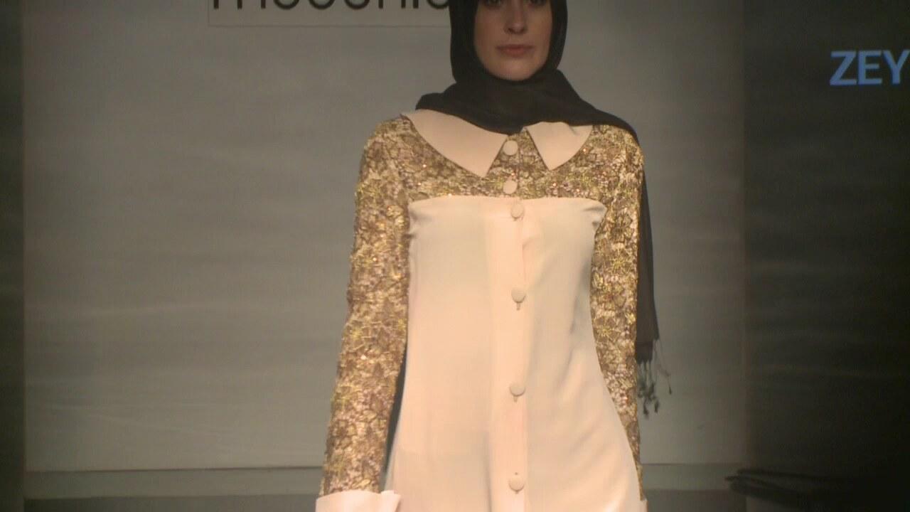 Zeynep Bilyay Defile Hijab Fashion Show 2014