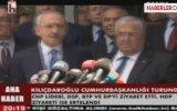 Kılıçdaroğlu'ndan DSP'ye Birleşme Teklifi