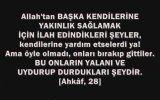Cübbeli; Gavs Allah'tır!!! [haşa]