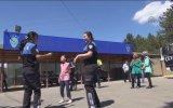 Polisler Çiftetelli Oynayıp, İp Atladı - Çorum