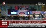 CHP Kurultayı Seçim Sonucu AçıklandıKemal Kılıçdaroğlu Yeniden Başkan Seçildi