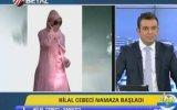 Namaz Kılmaya Başlayan Hilal Cebeci'ye Sunucudan İlginç Soru