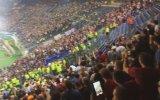 Roma - Cska Moskova Maçında Olay