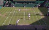 Tribüne Gelen Tenis Topunu Yakalayan David Beckham