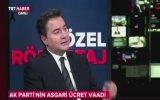 Ali Babacan  Biz Asgari Ücret 1300 TL Olacak Demedik, Komsiyona Tavsiye Edeceğiz.