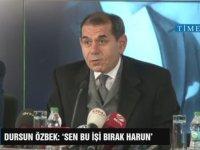 Dursun Özbek'in Harun Erdanay'ı İstifaya Davet Etmesi